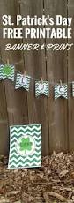 st patrick u0027s day lucky banner paper trail design