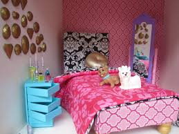 diy dollhouse from an ikea bookshelf cathie filian steve piacenza this bedroom look is complete with a princess bed and gem wall mural the bed i handmade and i ll have a tutorial for the bed very soon