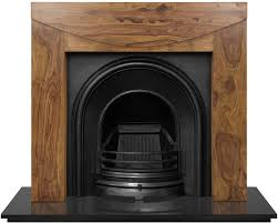 celtic arch cast iron fireplace inserts carron