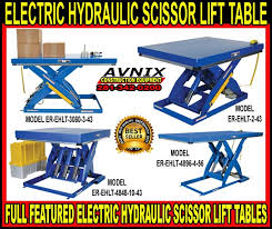 Scissor Lift Tables Things To Know When Buying Electric Hydraulic Scissor Lift Tables