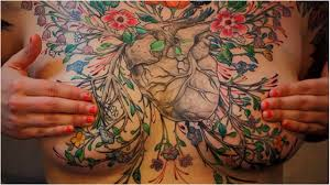shoulder to chest tattoo 64 ravishing tattoos for women and girls on chest youtube