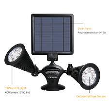 Solar Security Motion Sensor Light by Amazon Com Solar Lights Motion Sensor Outdoor Opernee Upgraded