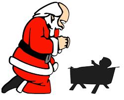 santa kneeling at the manger kneeling santa at manger make the cut forum