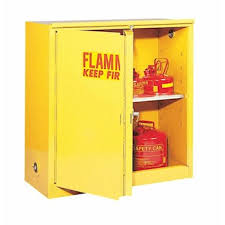 Yellow Storage Cabinet Eagle 3010 Flammable Storage Cabinet Self Closing Doors 30