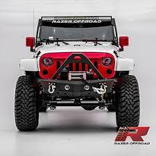 razer auto 07 17 jeep wrangler jk black textured falcon iii