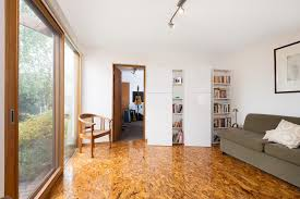 plywood floors home office contemporary with wrought iron