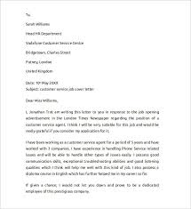 sample cover letter example for job 13 download free documents