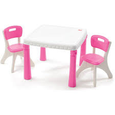Pink Coffee Table Step2 Table And Chairs Set Pink Walmart Com