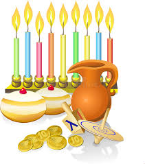where to buy hanukkah candles hanukkah candles donuts pitc stock vector illustration of