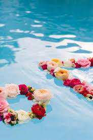 floating flowers floating flowers for pool wedding kantora info