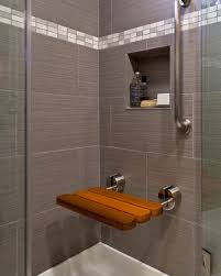 Shower Designs With Bench Fancy Bathroom Shower Bench On Home Design Ideas With Bathroom