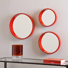 Decorative Mirrors Target Contemporary Design Red Wall Mirror Inspirational Ideas Decorative