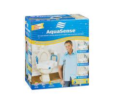 siège toilette surélevé siège de toilette surélevé 3 en 1 aquasense équipement et