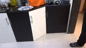 two colour combination vedio in modular kitchen baroda city latest