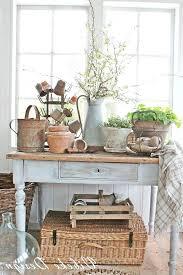 pottery barn console table ebay ana white shabby chic ideas