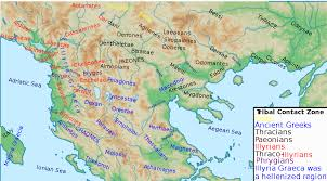 Zone Map File Ancient Greeks Paeonians Illyrians Thracians Celts Phrygians
