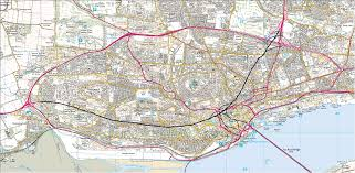 Dundee Scotland Map Has There Ever Been A Proposal To Bypass Dundee Kingsway West Sabre
