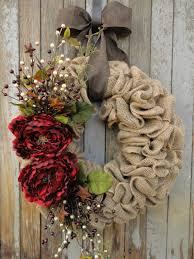 christmas burlap wreaths peony christmas wreath christmas burlap wreath burlap