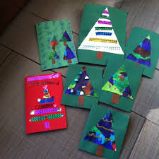 christmas cards ideas for children to make christmas lights