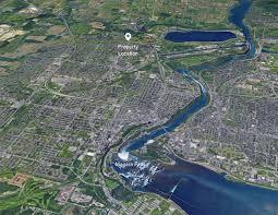 Niagra Falls Map Residential Development Parcel Greg Chew