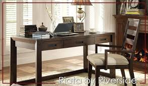 Desk Sets For Home Office Home Office Furniture Desk By Riverside Home Office Studio By