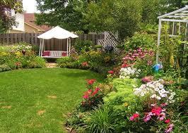 Landscaping Ideas For Small Backyards Triyae Com U003d Small Backyard Flower Garden Design Various Design