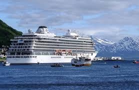 viking sky christening celebration in tromsø cruise maven