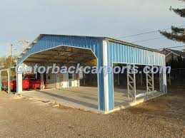 Garage With Carport Gatorback Carports U2013 Commercial Grade Carports