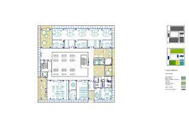 Police Station Floor Plan Gallery Of Fuencarral El Pardo Police Station Voluar