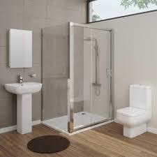 Modern En Suite Bathroom With Shower Stock Image Image 14467291