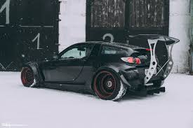 stanced smart car smart roadster clinched widebody custom wheels bbs rs makelower