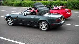 the great mazda mx 5 roof race parkers youtube