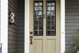 Exterior Wooden Door What Are The Steps For Painting A Newly Hung Wooden Exterior Door