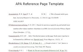 references page template apa reference page template spreadsheettemple