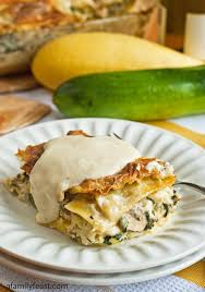 white vegetable lasagna a family feast