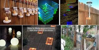 Backyard Solar Lighting Ideas 10 Unique Ways To Light Up Your Backyard Home Design Garden