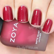 zoya matte velvet collection swatches u0026 review peachy polish
