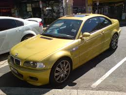 Bmw M3 E46 - bmw m3 e46 in phoenix yellow 1 madwhips