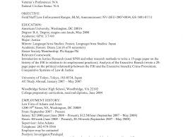 Federal Employment Resume Smartness Inspiration Government Resume Template 14 Federal