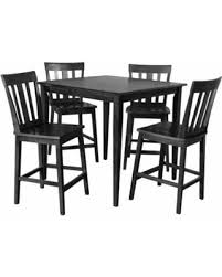 great deal on mainstays 5 piece counter height dining set