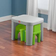 step2 table and chairs green and tan 56 step 2 table and chairs set versatile kitchen table and chair