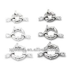 sterling silver necklace clasp images Xd p335 925 sterling silver spring ring clasp with loop spring jpg
