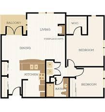 2 bedroom apartment floor plans chelsea at juanita village