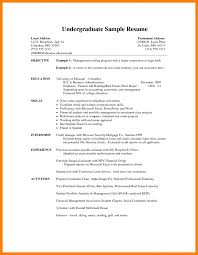 Sample Music Resume For College Application Kinesiology Resume Sample Student Canada Gra Saneme