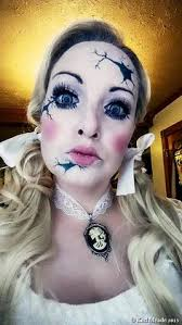 China Doll Halloween Costume Create Halloween Costume Makeup Halloween