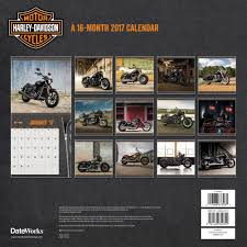 Harley Davidson Patio Lights by Harley Davidson Wall Calendar 2017 Motorcycles By Trends