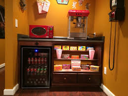 cabinet for home theater equipment our home theater u0027s concession stand home theater pinterest