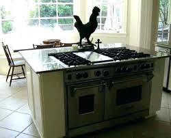 kitchen island stove top stove in island kakteenwelt info