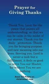 a non denominational thanksgiving blessing about gratitude http
