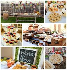 how to host a beautiful backyard brunch bridal shower porch advice